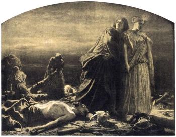 Artur Grottger, Wojna: Ludzie czy szakale?, Ryciny inspirowane Powstaniem Styczniowym 22.I.1863